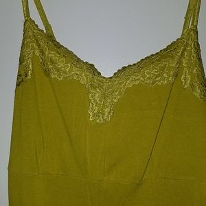 Lane Bryant Tops - Lace top & bottom cami